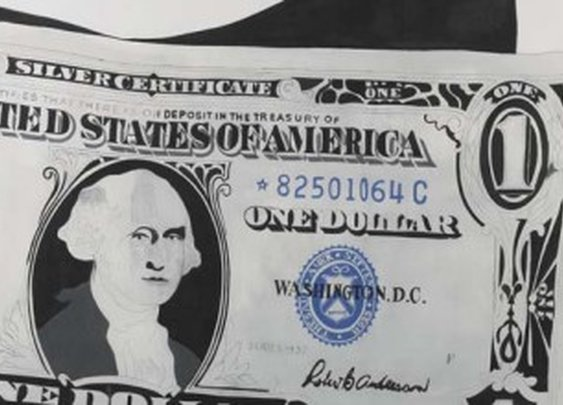 Andy Warhol's One Dollar Bill Sells For $32.8 Million USD