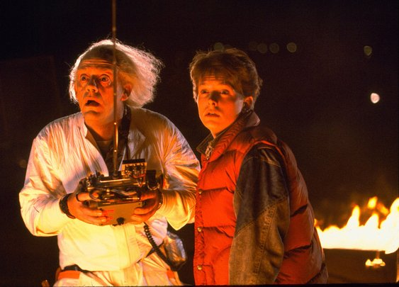 88 Geeky Spots in the Back To The Future Trilogy