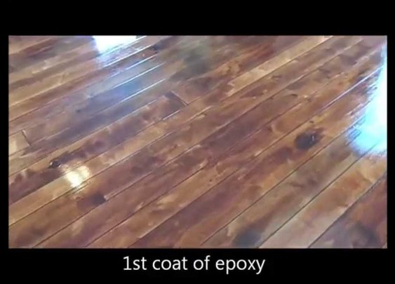 How to make your concrete look like wood flooring