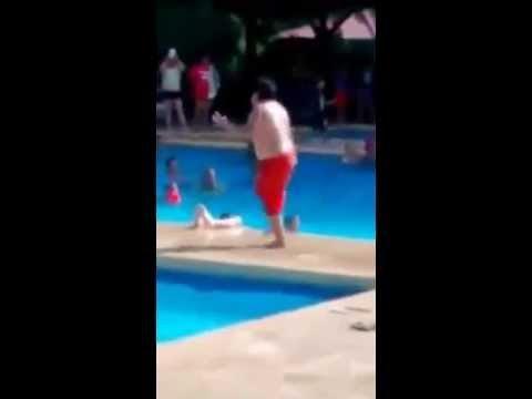 Chubby Kid Kills Cuban Pete at the Pool