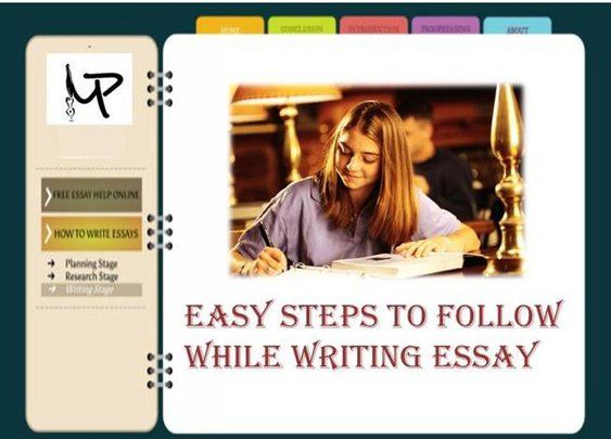 Learn to write essay following few simple steps