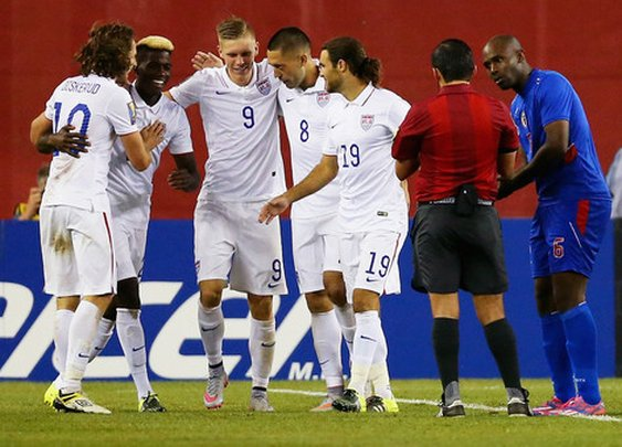 US has slow start but manages to defeat Haiti 1-0 in group game of Gold Cup - Los Angeles Soccer | Examiner.com