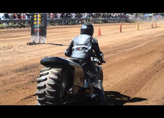 Top Fuel Motorcycle Dirt Drag Racing