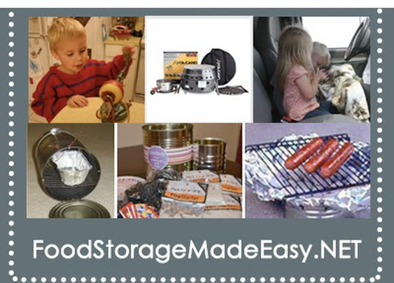 Food Storage Made Easy - Ten simple BabySteps for building your food storage