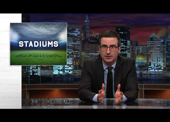 Last Week Tonight with John Oliver: Stadiums (HBO) - YouTube