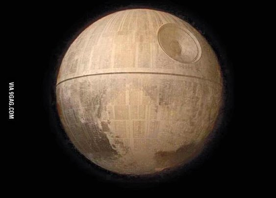 First high-res image of Pluto is disturbing