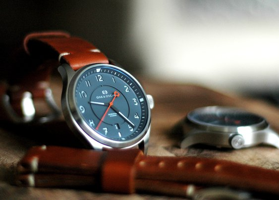 Introducing: The Oak & Oscar Burnham — HODINKEE