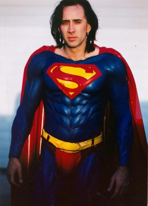 Did You Know That Nic Cage Was Almost Superman?
