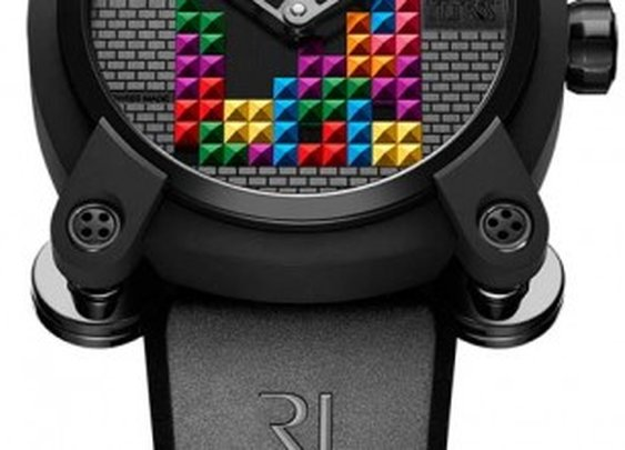 RJ-Romain Jerome Unveils Tetris-DNA Watch