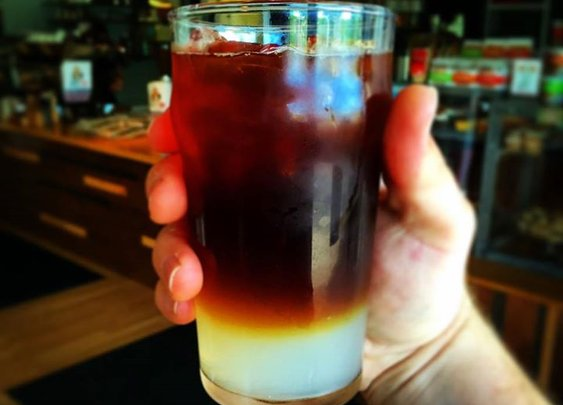 Kaffeelemond-Cold Brewed Iced Coffee and Lemonade