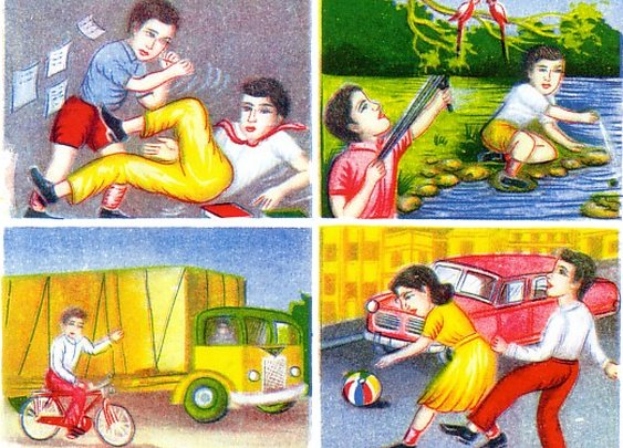Vintage Safety Charts From India