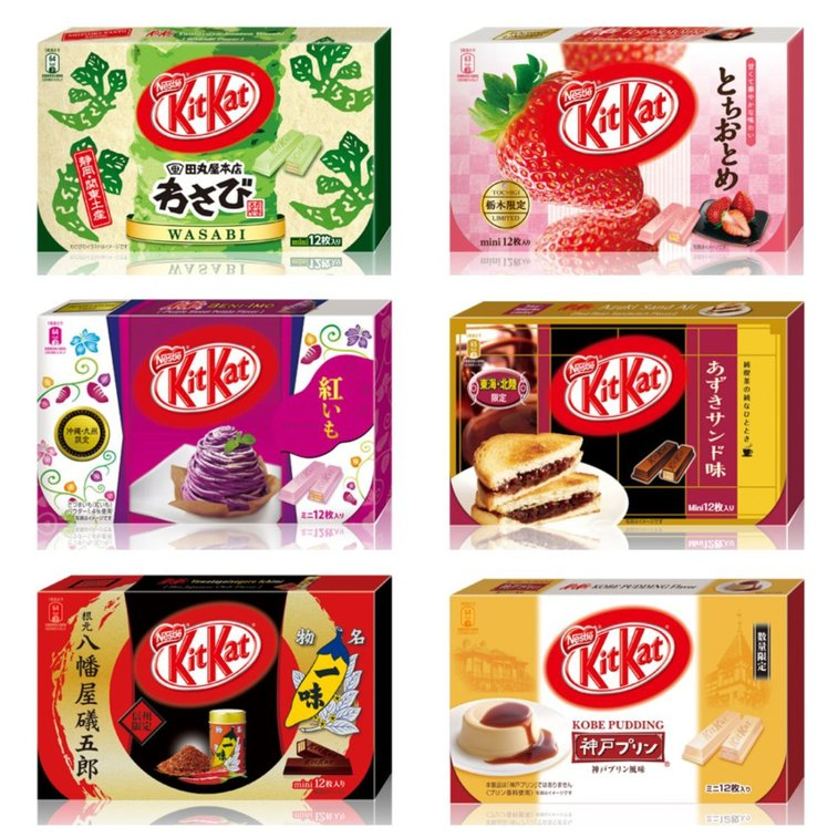 There Are More Than 200 Different Flavors Of Kit Kat In Japan. Here's Why. | Food Republic