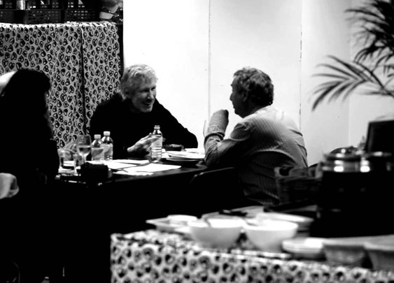 Nick Mason, David Gilmour and Roger Waters Behind The Scenes: O2 Arena 2011