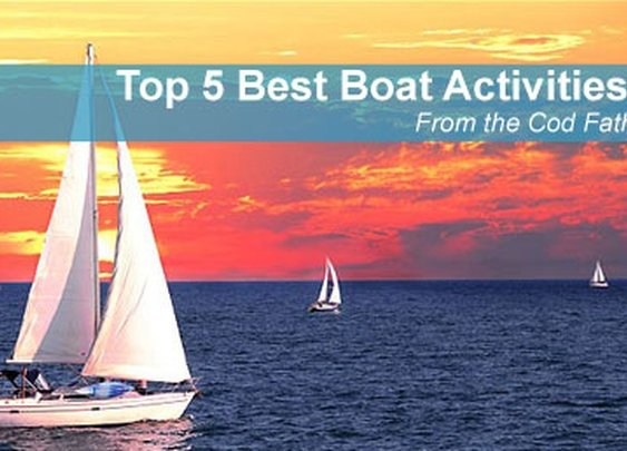 5 Boat Activities – Recommended