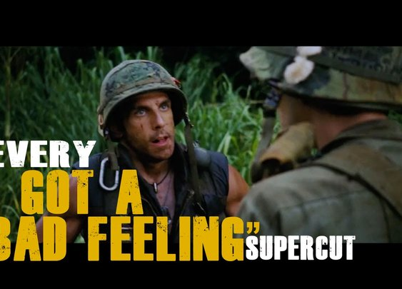"""Every """"I got a bad feeling"""" line from the movies (Supercut)"""