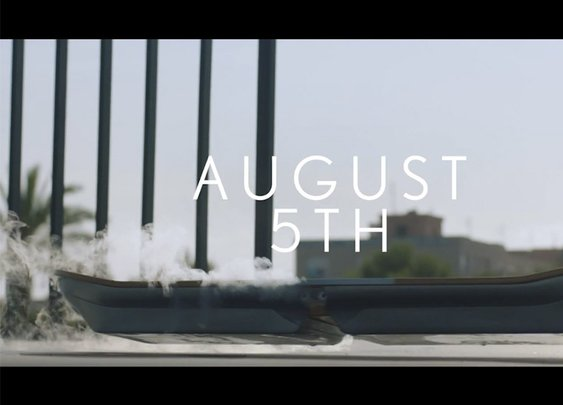 Lexus will officially unveil its hoverboard on August 5th