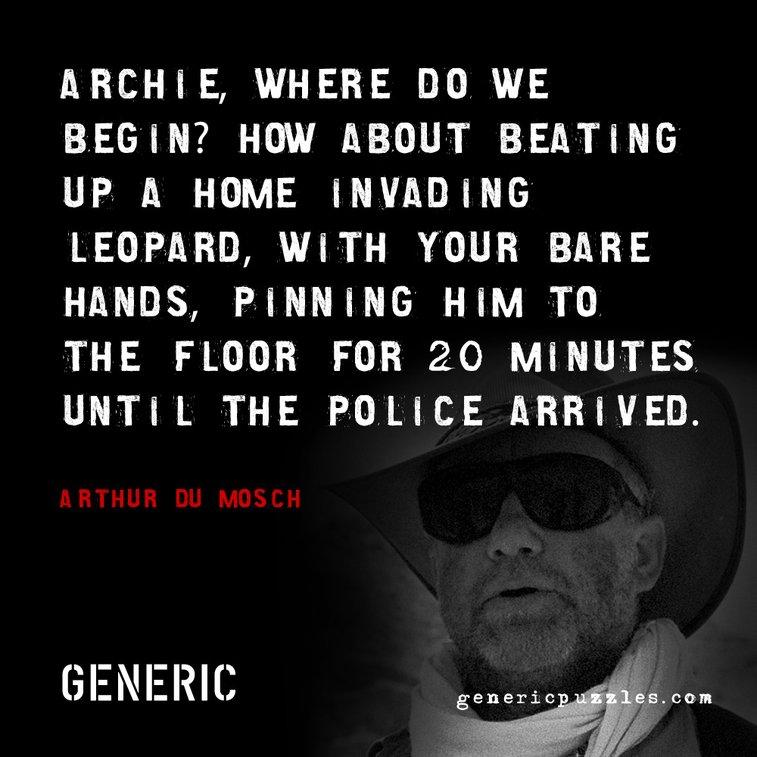 Archie the Leopard Killer