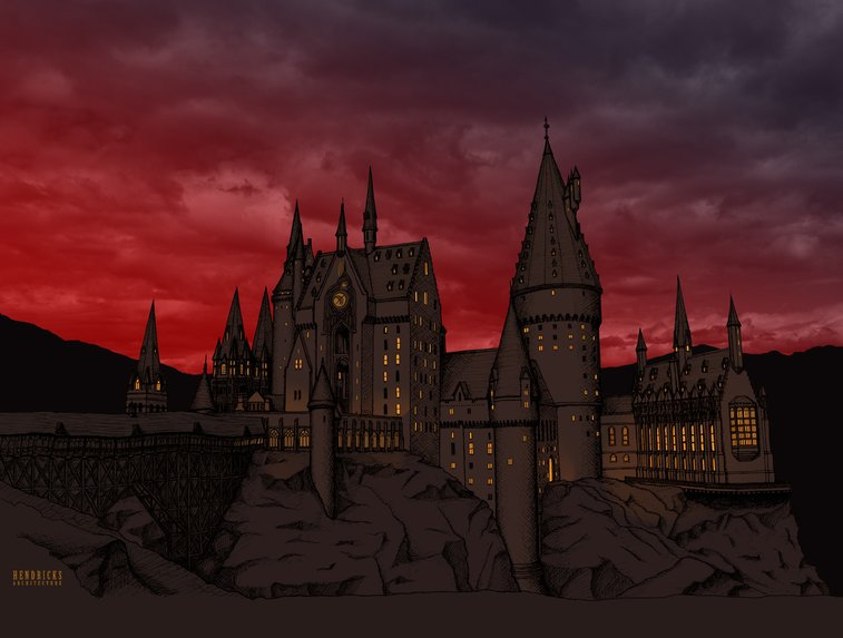 The Architecture of Hogwarts Castle