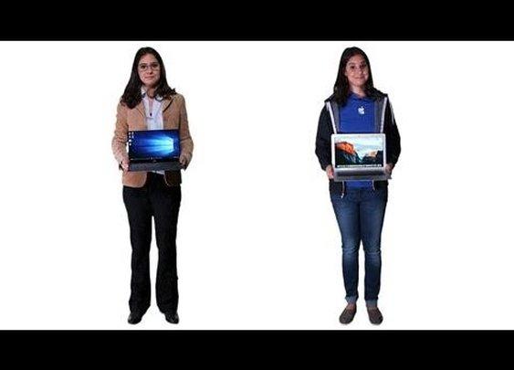 Mac vs. PC: The Windows 10 Edition - YouTube