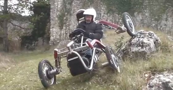Part Spider, Part Car: Swincar Can Drive Over Anything