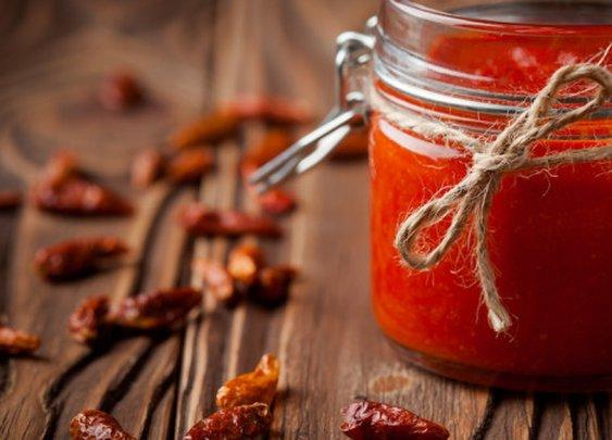 Homemade Sriracha