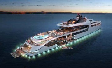 Meet the Admiral X-Force 145, the largest and most expensive yacht ever