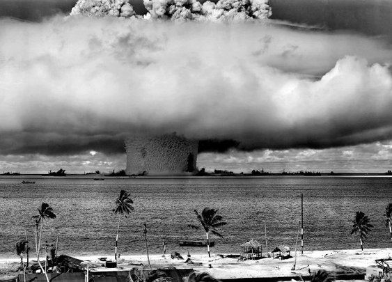 Every Nuclear Bomb Detonation from 1945 to 1998 | GOOD