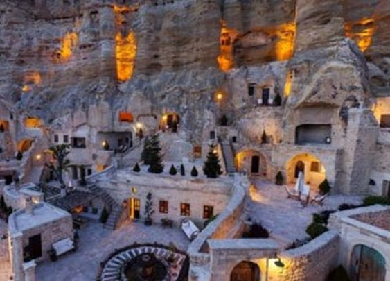 Yunak Evleri Cave Hotel In Cappadocia, Turkey