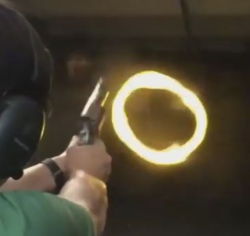 Burning Ring of Fire: Smith & Wesson.460