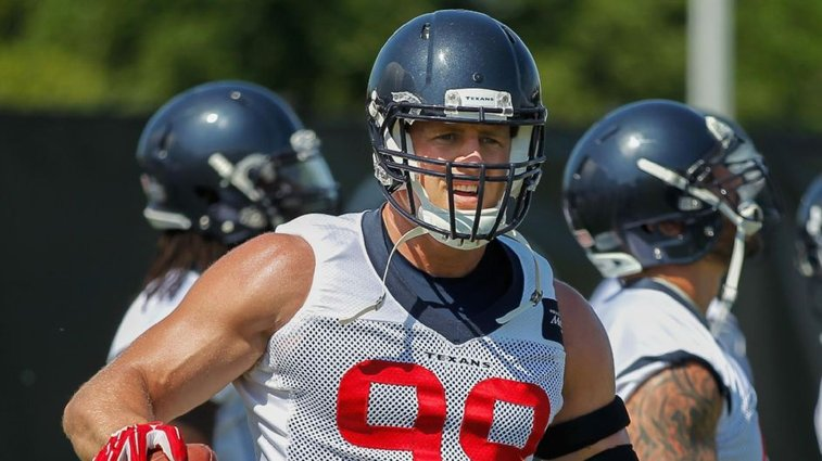 Houston Texans' J.J. Watt fuels body with up to 9,000 calories