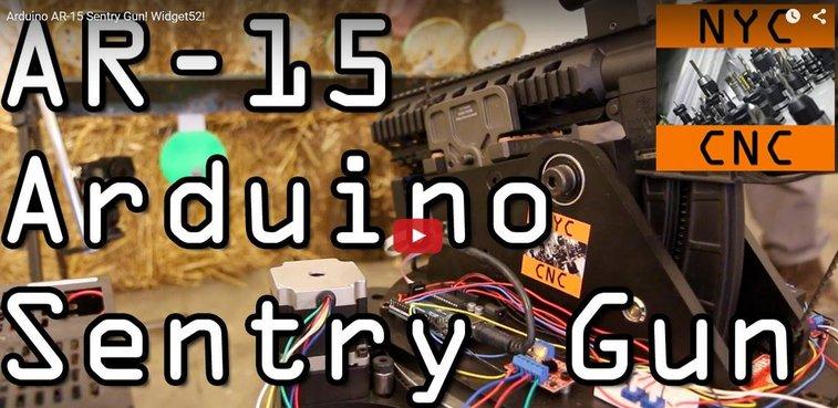 AR15 SentryGun
