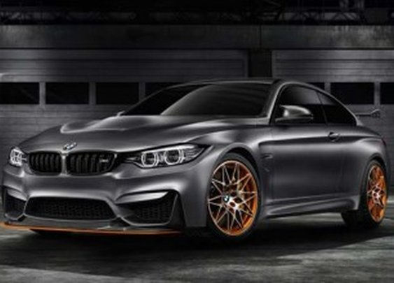 BMW M4 GTS concept unveiled