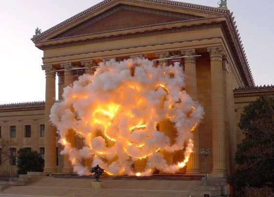 A Pyrotechnic Artwork Makes a Boom