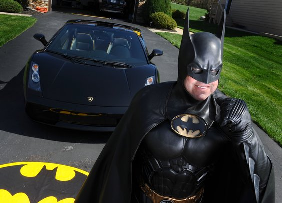 Route 29 Batman is killed after his Batmobile breaks down along