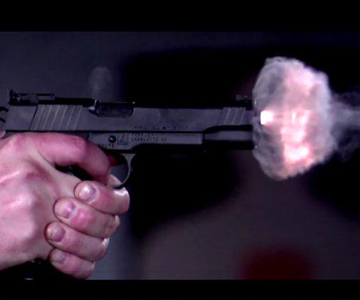 73,000 Frames Per Second Epic Slow Mo GunFire