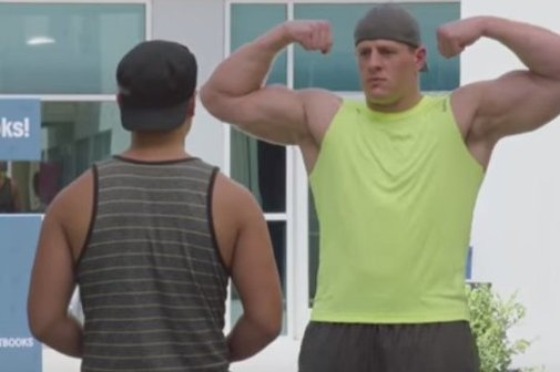 JJ Watt wants you to sweat