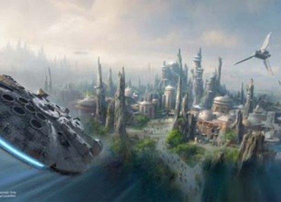 Disney is building a massive Star Wars world at Disneyland