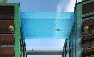 Would you take a dip in London's first sky pool?