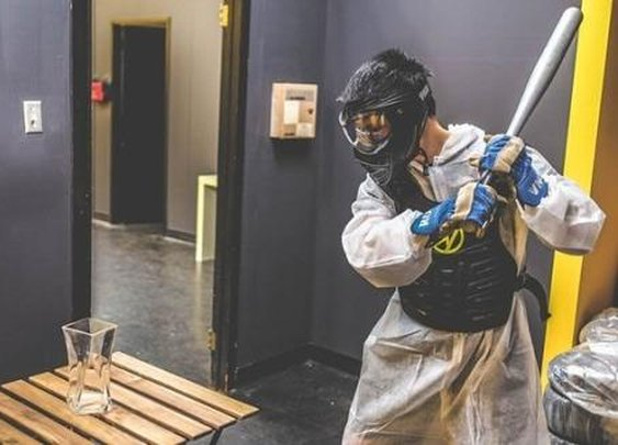 Smash Stuff for Fun — Toronto's New 'Rage Room' Attraction Is Awesome