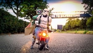 The empire kicks back: stormtroopers on their days off