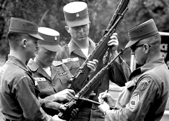 Berlin Crisis, 1961: The Beginning of The End of The M14 - The Firearm Blog