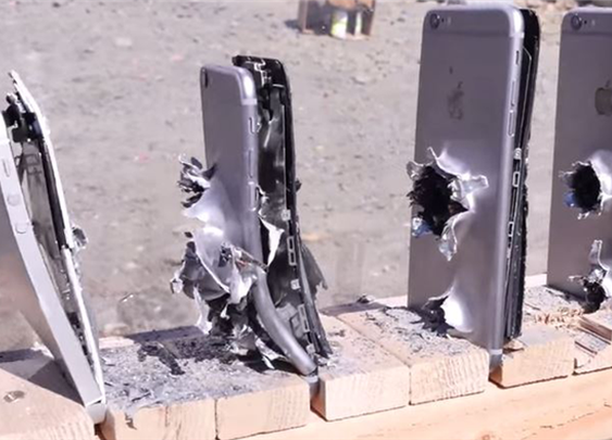 How Many iPhones Would It Take To Stop An AK-74 Bullet? Let's Find Out! | Diply