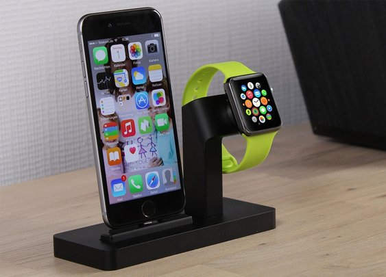Premium One - All in One Dock for Apple Watch & iPhone