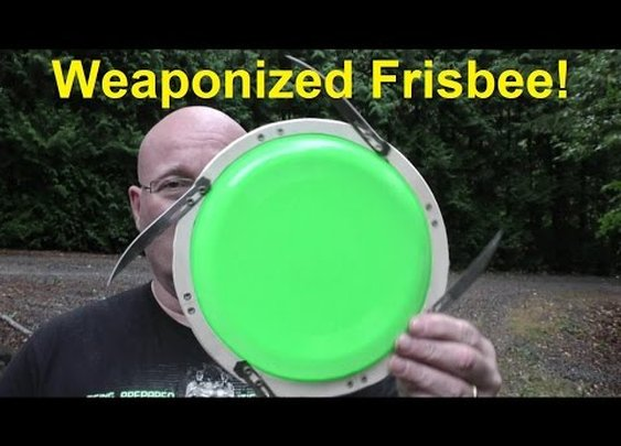 Don't Weaponize A Frisbee With Surgical Steel