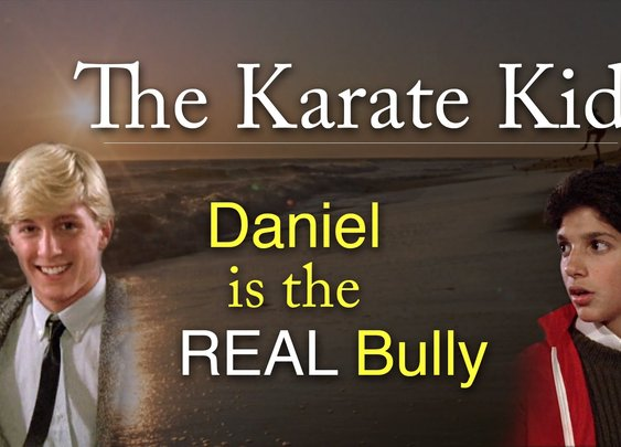 The Karate Kid: Daniel is the REAL Bully - YouTube