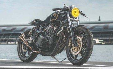 Yamaha XS850 Custom by Nozem