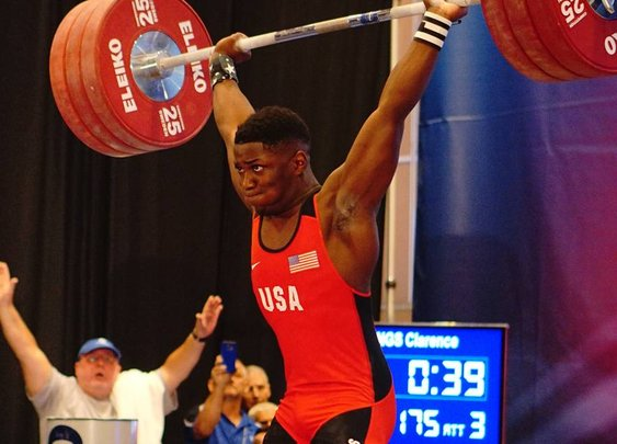 The 15-Year Old LeBron James of Weightlifting