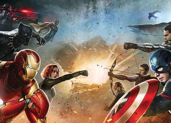 Captain America: Civil War Concept Artwork Draws Up The Sides
