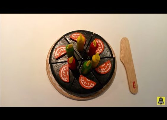 Voila S033L Chocolate Cake with Candles (아기 케익 세트) Gâteau au chocolat Schokoladenkuchen Toy 장난감 - YouTube