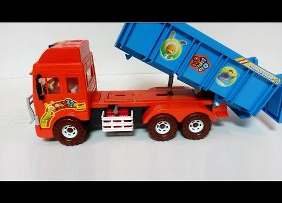 Cocomong Melody DumpTruck (코코몽 멜로디 덤프트럭) ダンプトラック 旋律自卸车 игрушка おもちゃ 玩具 jouet - YouTube